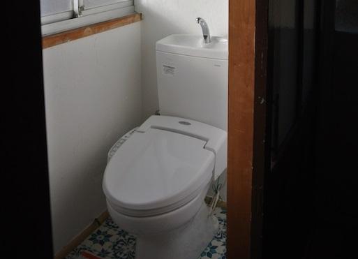 アフター 自宅トイレ
